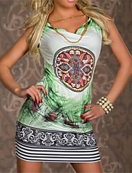robe imprimée décontractés pour femmes (plus de couleurs)