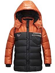 ragazzo è il nuovo ragazzo piumino il lucido incappucciato ispessimento caldo il ragazzo giù cappotto