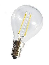 ON E14/E26/E27 4 W 4 COB 400 LM Warm White A Decorative LED Filament Lamps AC 220-240 V