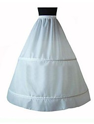 Slips A-Line Slip Floor-length 1 Taffeta White