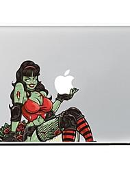 o adesivo de pele decorativo mulher para macbook air / pro / Pro com tela retina