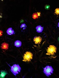 20LED chaîne de lampe solaire chaîne de maomao jardin lanterne décorative feux du festival 4.8m