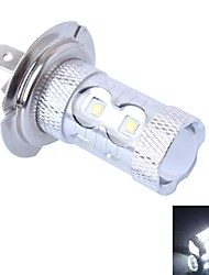 GC® H7 50W 600LM 10×Cree XBD R3 White LED for Car Foglight Headlight Lamp (DC12-24V, 1Pcs)