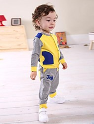 Kids Cotton Three-piece Private Long-sleeved Baby Children's Clothing