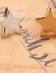 liga de gabinete de cinco pontas brincos estrela de moda (mais cores)