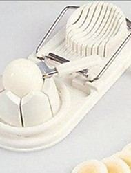 New Practical 2 in 1 Multi-functional Kitchen Tool Egg Cutter Slicer Chopper