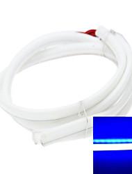 2 x LED Bande 80cm feux 79led 3014smd IP65 étanche lumières décoratives DC12V 5.5W 450-490nm bleu diurnes
