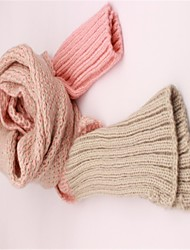 Women's Thicking Long Warm Wool Scarf