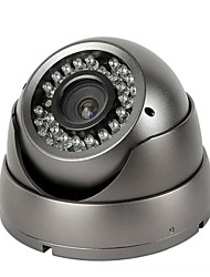 CCTV 2.8-12mm Varifocal IR Vandalproof Dome Camera for 1/4 CMOS 800TVL with IRCUT 30m IR Indoor XV-V806R8