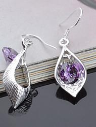 Stud Earrings Drop Earrings Jewelry Women Titanium 2pcs Silver