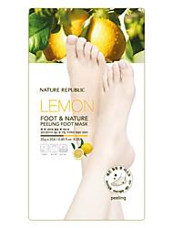 Nature Republic Lemon Peeling Foot Mask