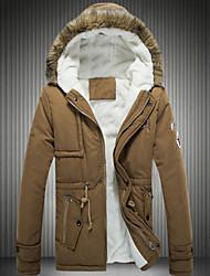 MumuGeorge Men's Fashion All-Match Long Sleeve Coat
