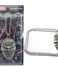 spider-man acessório símbolo do super-herói colar filme cosplay