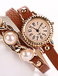 W&Q Fashion Rivet Circle Watch