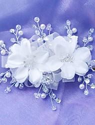 New Korean Flower Bridal Handmade Beaded Headdress More Colors