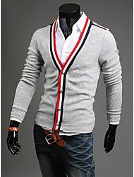 Ула мужская v ncek с длинным рукавом Bodycon пальто