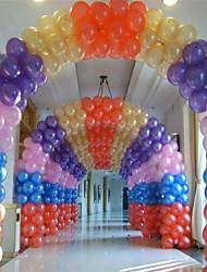 10 pollici ispessisce lucentezza perlacea matrimonio palloncino set di 100 (più colori)