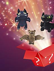 3pcs Christmas Lucky Bag--Stuffed Toys,Rainbow Color Loom Random Pattern