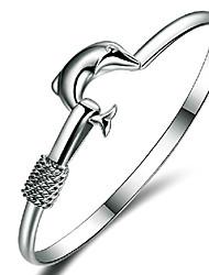 prata 925 pulseira da moda Aimei mulheres