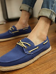 Men's Shoes Casual Fabric Fashion Sneakers Blue/Beige/Navy