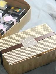 vaca caja de pastel de color de la piel set de 6 (sin incluir otros accesorios)