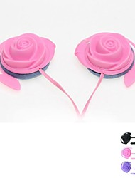 rose sport cuffie on-ear con microfono mic per il iphone 6 più (colori assortiti)
