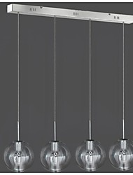 35W Chandelier ,  Modern/Contemporary / Traditional/Classic Chrome Feature for Mini Style MetalLiving Room / Bedroom / Dining Room /