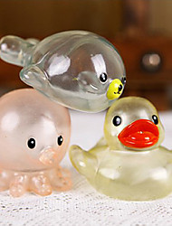 Transparent Lovely Animals Designed Water Toys(Random Color)