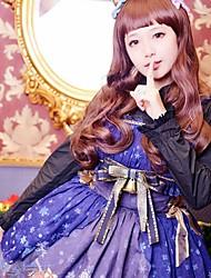 X'mas Deer Sleeveless Knee-length Blue JSK Sweet Lolita Dress