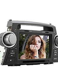 8 polegadas 2 din carro dvd player para Toyota Highlander 2008-2014 com gps, bluetooth, ipod, rds, tela de toque