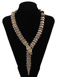Women's Fashion Serpentine Alloy Necklace