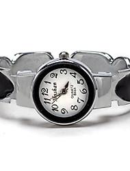 braccialetto del quarzo delle Rustico donne orologio da polso impermeabile