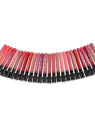 mate líquido impermeable labio lápiz labial maquillaje brillo de las mujeres