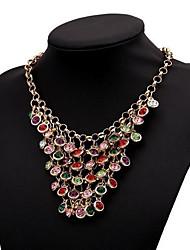 Women's Multi-level Set Auger Alloy Necklace
