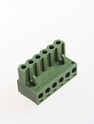 6p plug-interminal conector espaçamento 5,08 milímetros 300v10a (10 unid)