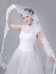 The Biggest Day Wedding Veil with One Layers Waltz Bridal Veils