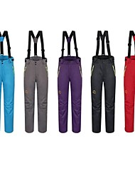 Outdoor Women's Pants Waterproof / Windproof / Thermal / Warm / Detachable Fleece / Fleece Lining Winter S / M / L / XL / XXL