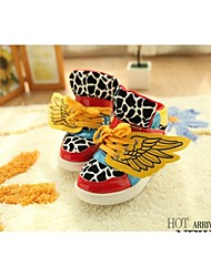 Children's shoes Comfort Flat Heel Cotton Fashion Sneakers with Lace-up shoes More colors available