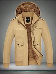 Langxin Herrenmode casual warme Jacke