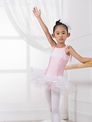 Vestidos/Tutús (Rojo/Amarillo/Azul , Spandex/Tul , Ballet/Entrenamiento) - Ballet/Entrenamiento - para Niños