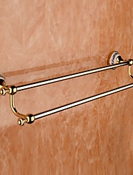 Towel Bars, Contemporary Ti-PVD(TI-PVD) Zinc Alloy Wall  Mounted