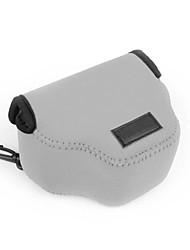 neoprene dengpin® câmara de transporte flexível caso protetor bolsa saco para SX500 Canon PowerShot é hs sx510 (cores sortidas)