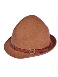 Unisex Tweed/Wool Fedora Hat , Casual Winter