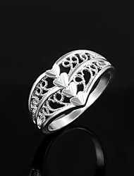 Uyuan Women's 925silver Silver Ornament Creative Personality Ring