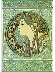 Retrato principal de uma máscara do rolo mulher elegante