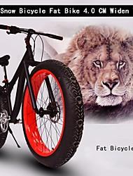 "8 velocidades 26 ""bicicleta gordura bicicleta neve 4 centímetros de largura mt pneu da bicicleta frame da liga de mountain ™ terreno bicicleta de"