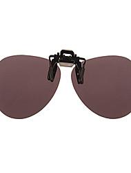 100% résine rond-verres solaires les lentilles de UV400 hommes