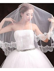 1 Layer Cathedral Length Wedding Veil 300cm length with Applique