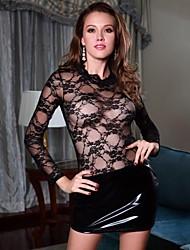Night® Mini bodycon vestido de encaje sin mangas halter de las mujeres de la víspera