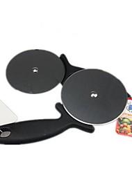 Größe Pizzaschneider, Edelstahl 9,5 x 20 x 1,8 cm (3,7 × 7,9 × 0,7 Zoll)